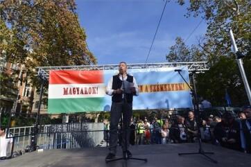 Székelyek nagy menetelése: Szimpátiatüntetést tartottak Budapesten és több más magyarországi településen - A cikkhez tartozó kép