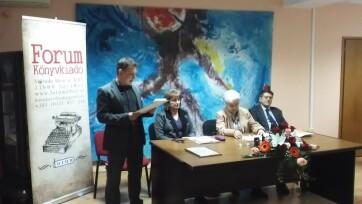 Hatvan éves jubileumot ünnepelt a Forum Könyvkiadó Intézet - A cikkhez tartozó kép
