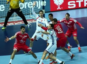 KÉZILABDA: Vereséggel kezdte a szerb csapat az EB-t - A cikkhez tartozó kép