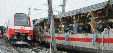Vonatbaleset Ausztriában, egy ember meghalt - A cikkhez tartozó kép