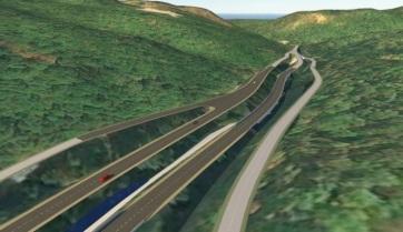 Magyar cégek érdeklődnek a Tarcal-hegyi korridor kiépítése iránt - A cikkhez tartozó kép
