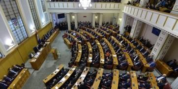 Heves vita bontakozott ki a horvát a parlamentben a szerb államfő zágrábi látogatása miatt - A cikkhez tartozó kép