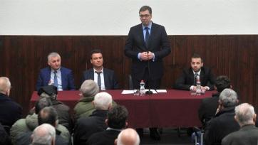 Vučić elégedett horvátországi látogatásával - A cikkhez tartozó kép