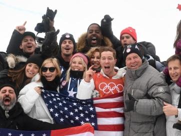 TÉLI OLIMPIA : Megvan az amerikaiak 100. aranya - A cikkhez tartozó kép