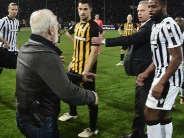 LABDARÚGÁS : Görögországban felfüggesztették az élvonalbeli futballbajnokságot - A cikkhez tartozó kép