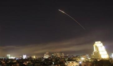 Az Egyesült Államok a brit és a francia légierővel együtt légicsapást mért Szíriára - A cikkhez tartozó kép