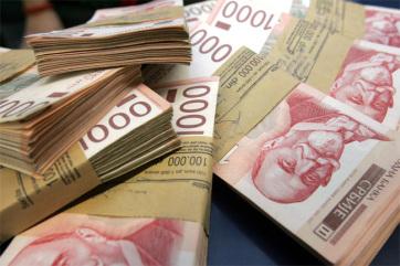Az első negyedévben 6,5 milliárd dinár a szerbiai költségvetési többlet - A cikkhez tartozó kép
