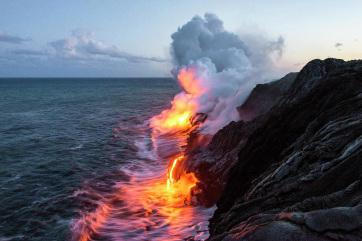 Napi fotó: A Hawaii Nagy Szigetén kitört Kilauea...