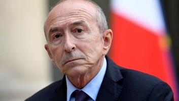 """A francia belügyminiszter a párizsi sátortáborok """"rövid időn belüli"""" felszámolását ígéri - illusztráció"""