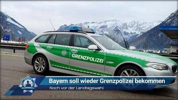 Elkezdődött a bajor tartományi határrendőrség kiépítése - illusztráció
