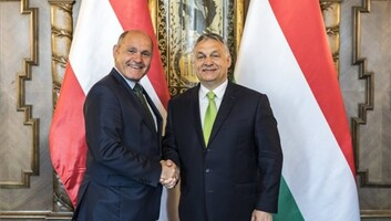 A magyar-osztrák kapcsolatokról és a Balkán EU-integrációjáról is tárgyalt Orbán Viktor és Wolfgang Sobotka - illusztráció