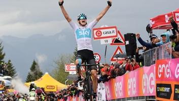 """Giro d""""Italia : Froome-siker a királyetapon, élre állt az összetettben - illusztráció"""