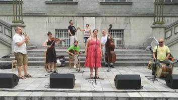 Csángó tánczenei siker Belgrádban - illusztráció