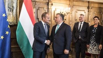 A migrációról tárgyalt Orbán Viktor és Donald Tusk - illusztráció