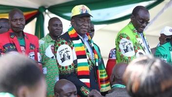 Robbanás a zimbabwei elnök kampánygyűlésén - illusztráció