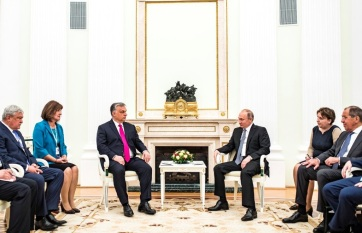 Napi fotó: Vlagyimir Putyin orosz elnök ma...