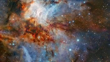"""Lenyűgöző fotó a világűrből: """"Egy igazi égi műalkotás"""" - illusztráció"""