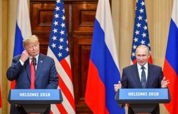 Napi fotó: Donald Trump amerikai és Vlagyimir...