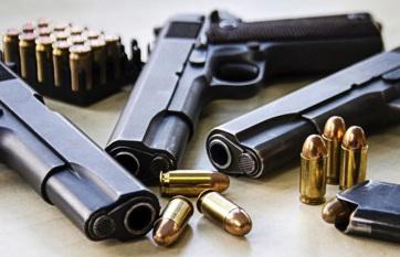 Napi fotó: A legálisan tartott fegyverek számát...