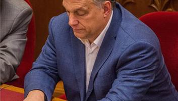 Izraelbe készül Orbán Viktor - illusztráció