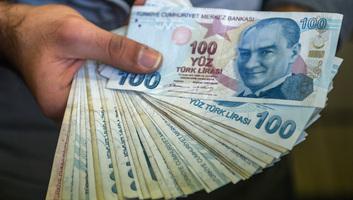 Zuhanórepülésben a török líra: Akcióterv indul a befektetők megnyugtatására - illusztráció