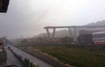 Napi fotó: Több tucatnyi halottja van a Genova...