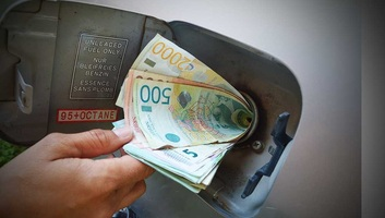 A Szerb Nemzeti Bank az üzemanyagárak stabilizálására számít - illusztráció