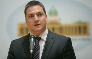 Napi fotó: Branko Ružić szerb államigazgatási...