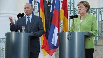 Merkel: Németországnak és Oroszországnak tennie kell a nagy nemzetközi válságok rendezéséért - illusztráció