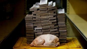 Venezuelában öt nullát eltöröltek a bankjegyekről - illusztráció