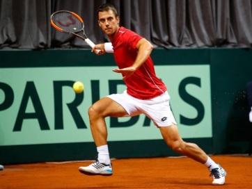 Tenisz: Györe győzelemmel kezdett a Davis-kupában - A cikkhez tartozó kép
