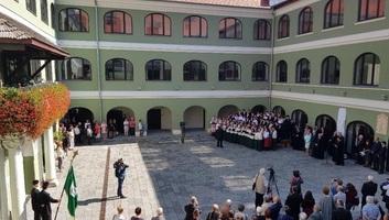 Kolozsváron átadták a Református Kollégium megújult épületét - illusztráció