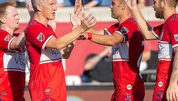 Labdarúgás: Nemanja Nikolić két gólt szerzett az Orlando ellen - illusztráció