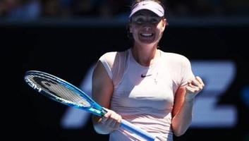 Tenisz: Vége Sarapova idényének - illusztráció