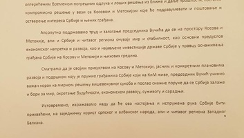 A vajdasági parlamenti többség támogatja Vučić politikáját - illusztráció