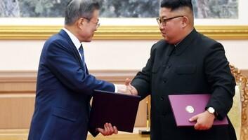 Mun: Észak-Korea az atomfegyver-mentesítés irányába mutató konkrét lépésekbe egyezett bele - illusztráció