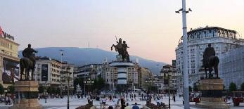 A részvételen áll vagy bukik a macedón népszavazás - illusztráció