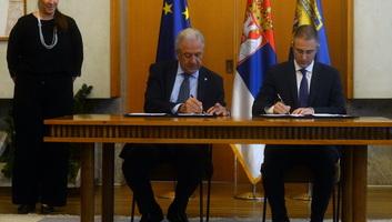 Aláírták a Frontex és a szerb belügyminisztérium közötti megállapodást - illusztráció
