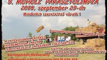 Ötödször tartanak parasztolimpiát Moholon - illusztráció
