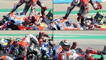 MotoGP: Lorenzo bukott, Márquez nyert Aragóniában - illusztráció