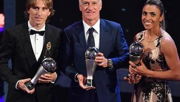 Labdarúgás: Luka Modrić az év játékosa a FIFA gáláján - illusztráció
