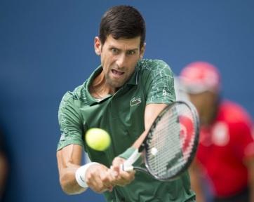 Tenisz: Đoković könnyedén jutott a negyeddöntőbe - A cikkhez tartozó kép