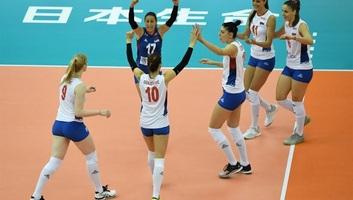 Röplabda: Szerbia bejutott az elődöntőbe a női vb-n - illusztráció