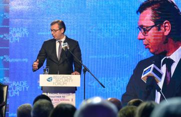 Napi fotó: Aleksandar Vučić szerb államfő...