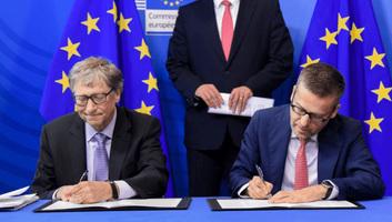 Bill Gates 100 millió eurós kezdőtőkével indított startupot Európában - illusztráció