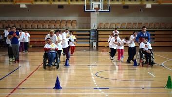 Zenta: Mini paralimpiát tartottak a Városi Sportcsarnokban - illusztráció