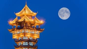 Egy kínai város mesterséges holdra cserélné az utcai lámpákat - illusztráció