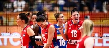 Röplabda: Szerbia női csapata világbajnok! - illusztráció