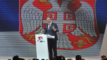 Tízéves fennállását ünnepelte a Szerb Haladó Párt - illusztráció