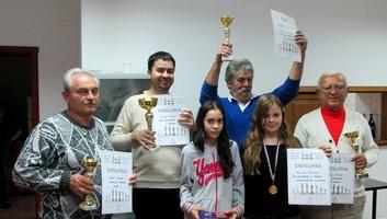 Sakk: Pletl Ákos nyerte meg a kishegyesi rapid tornát - illusztráció